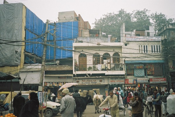 My second day in Delhi - Dave's Travel Pages India Travelogues