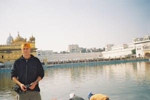 I finally got to visit the Golden Temple in Amritsar during my train journey around India