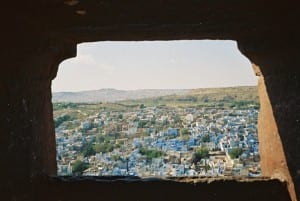A view out over Jodhpur
