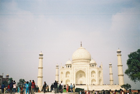 Another view of the Taj Mahal