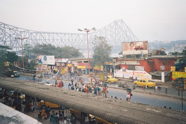 Sightseeing in Calcutta - A day spent exploring the frantic streets of Calcutta