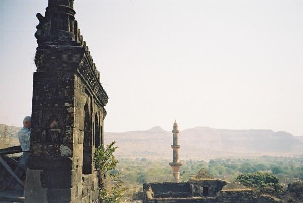 Daulatabad Fort in India