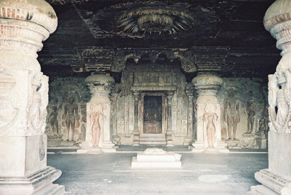 Inside the Ellora Caves