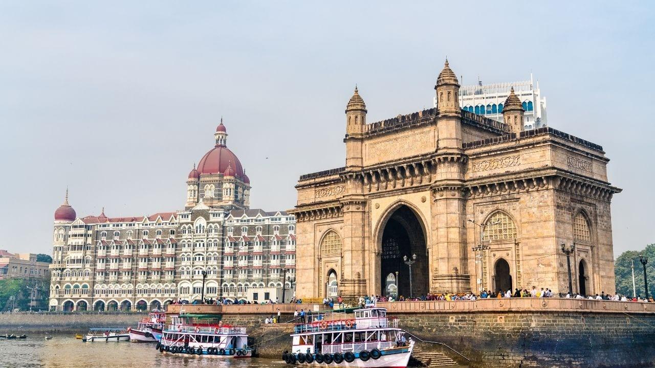 Some impressive buildings in Mumbai
