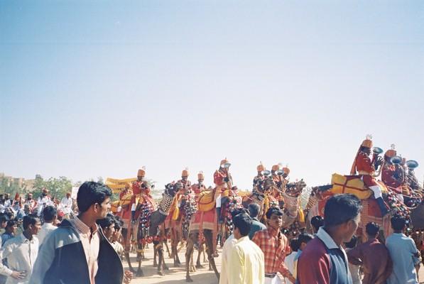 The Jaisalmer desert festival 2004