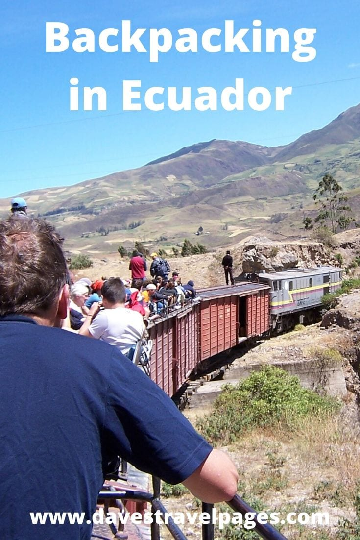 Backpacking in Ecuador Travel Blog