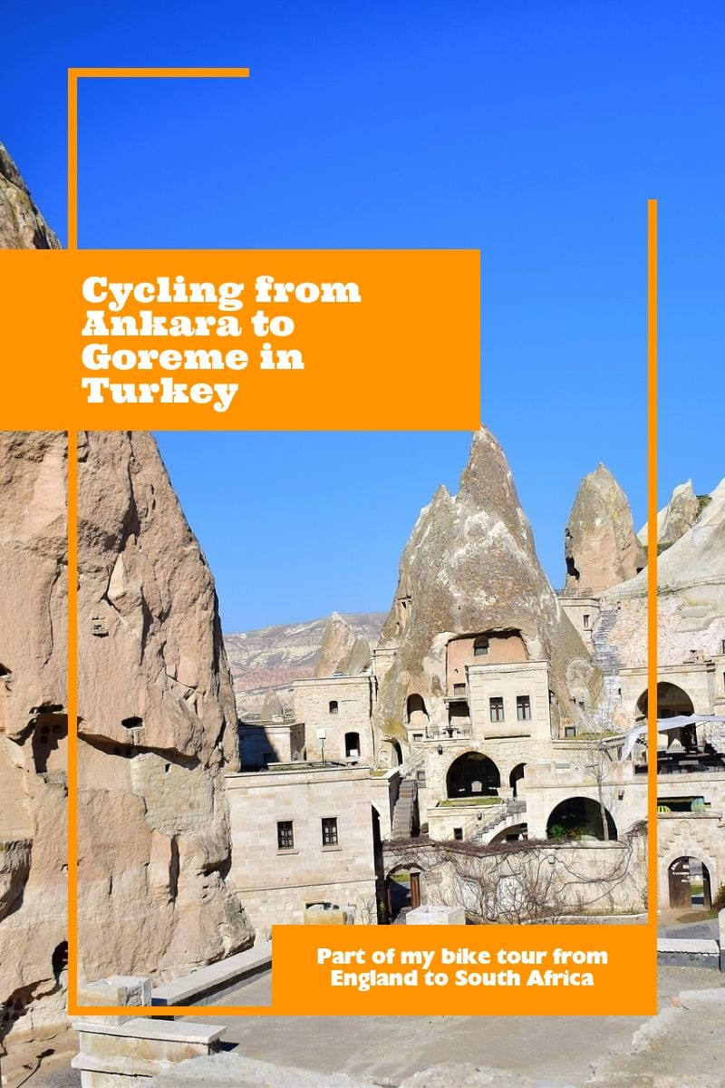 Cycling from Ankara to Goreme in Turkey