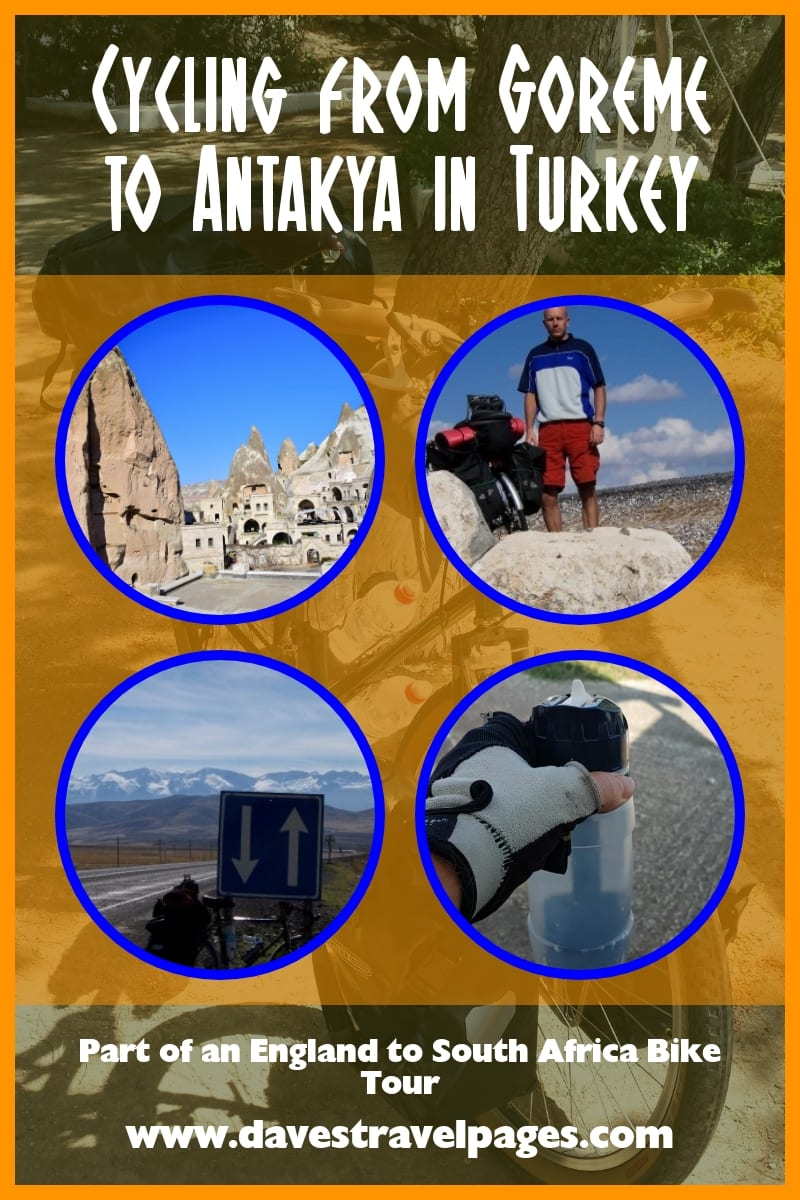Cycling from Goreme to Antakya in Turkey
