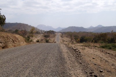 Cycling along the roads of north Ethipia