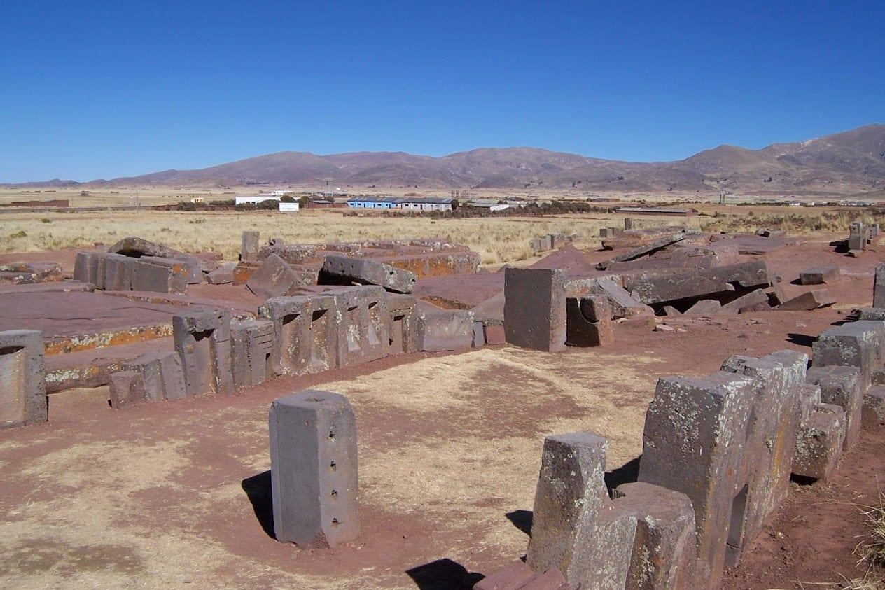 Tiahuanaco site in Bolivia