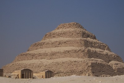 Zosers Pyramid in Egypt