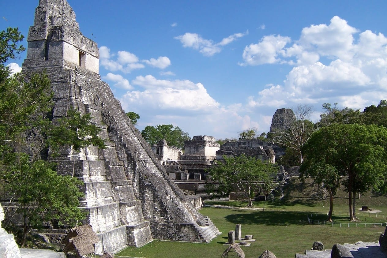 Exploring the archaeological site of Tikal in Guatemala