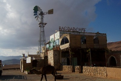 The Bagdad Cafe in Syria