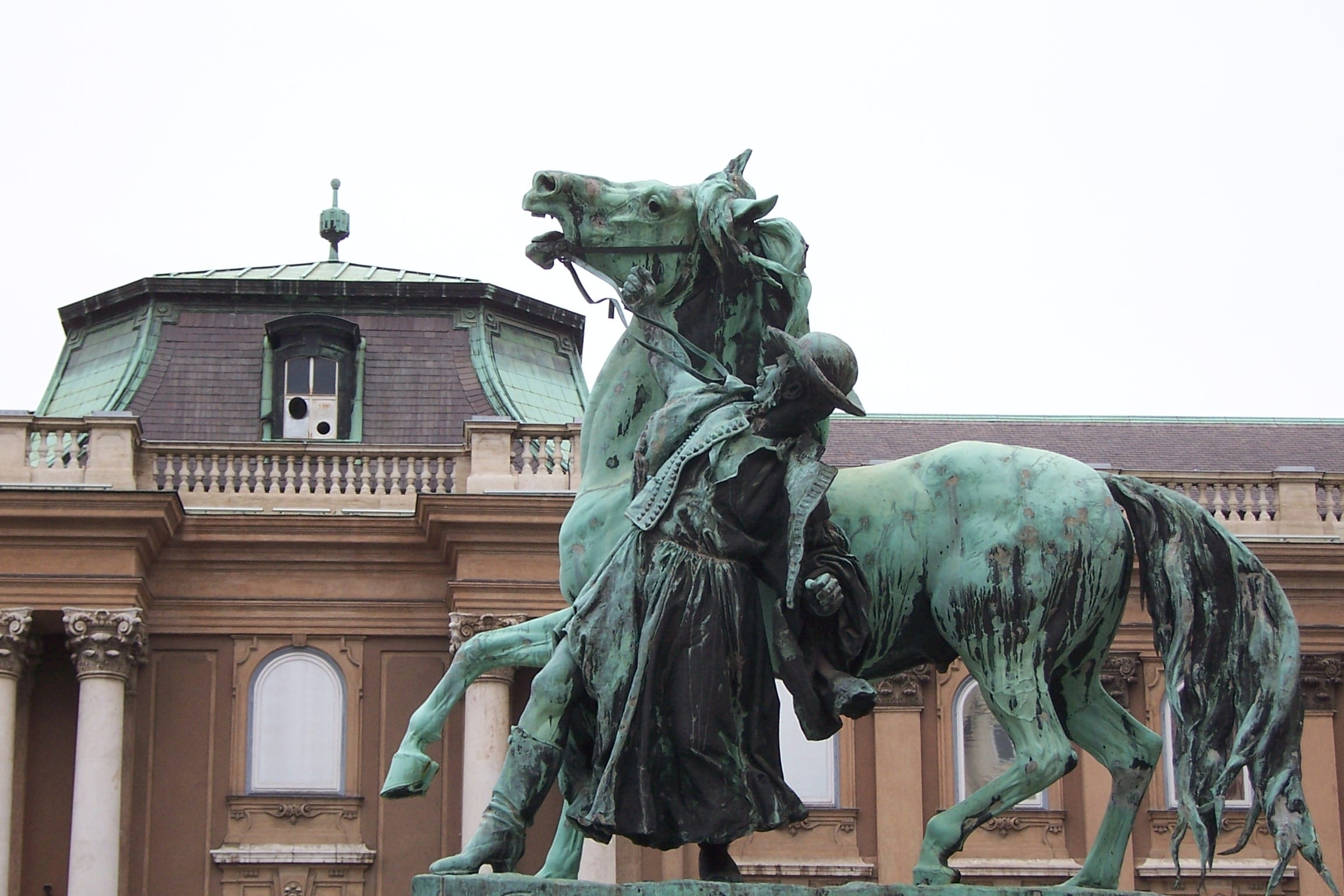 Statues in Budapest