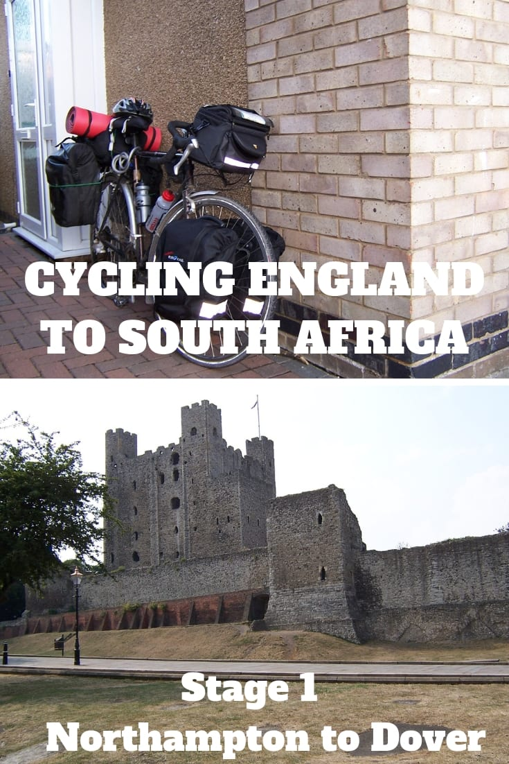 Cycling from England to South Africa Stage 1 - Northampton to Dover