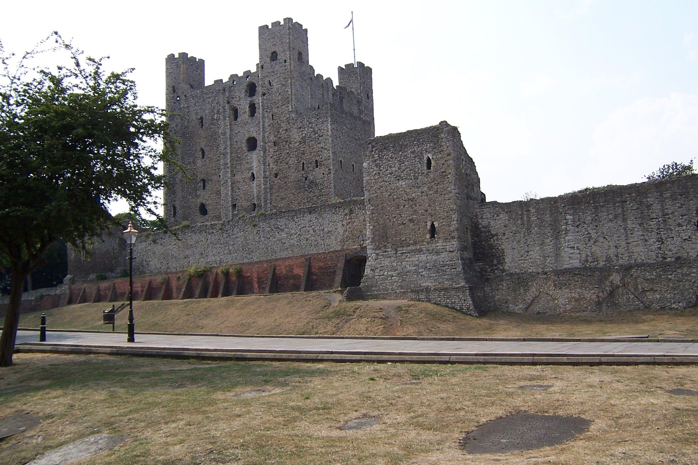 Northampton to Dover - Rochester Castle