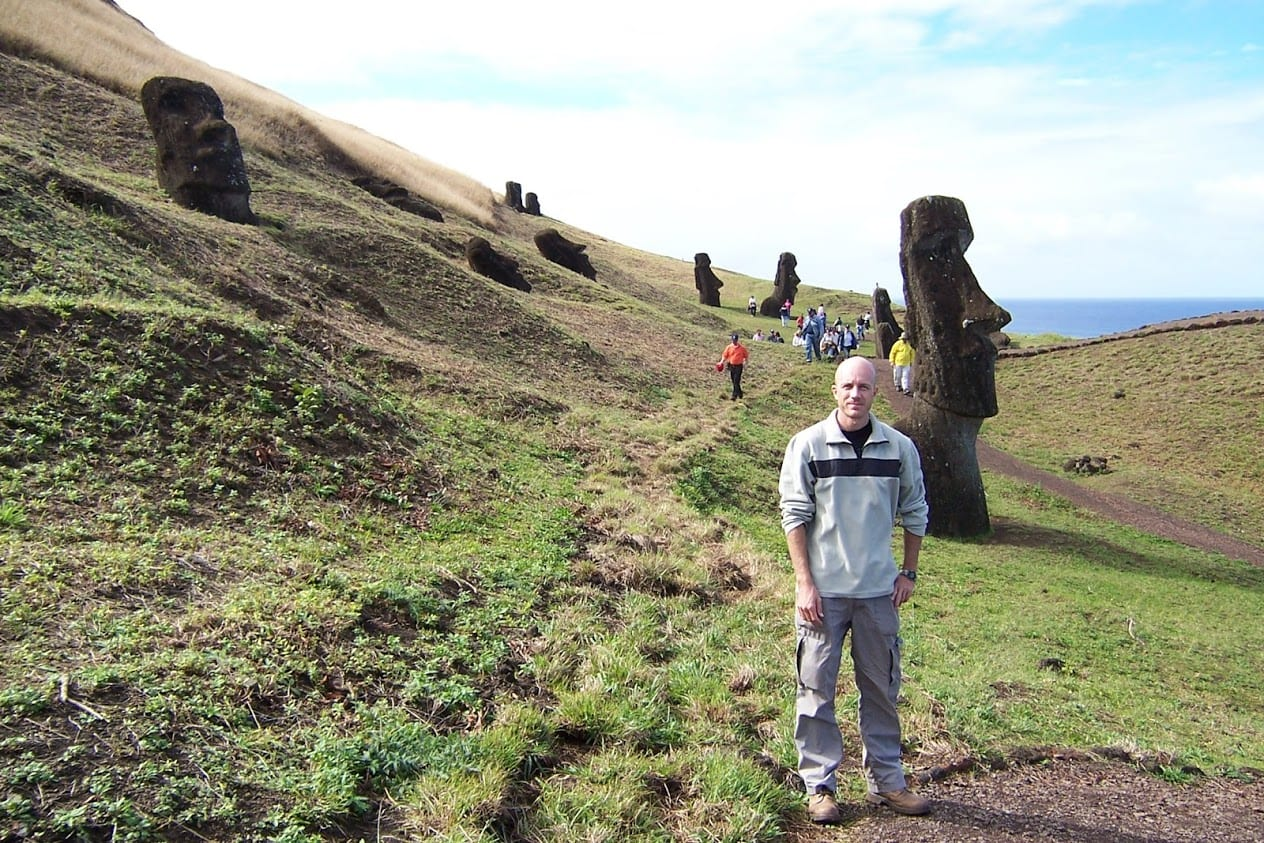 Dave Briggs at Easter Island