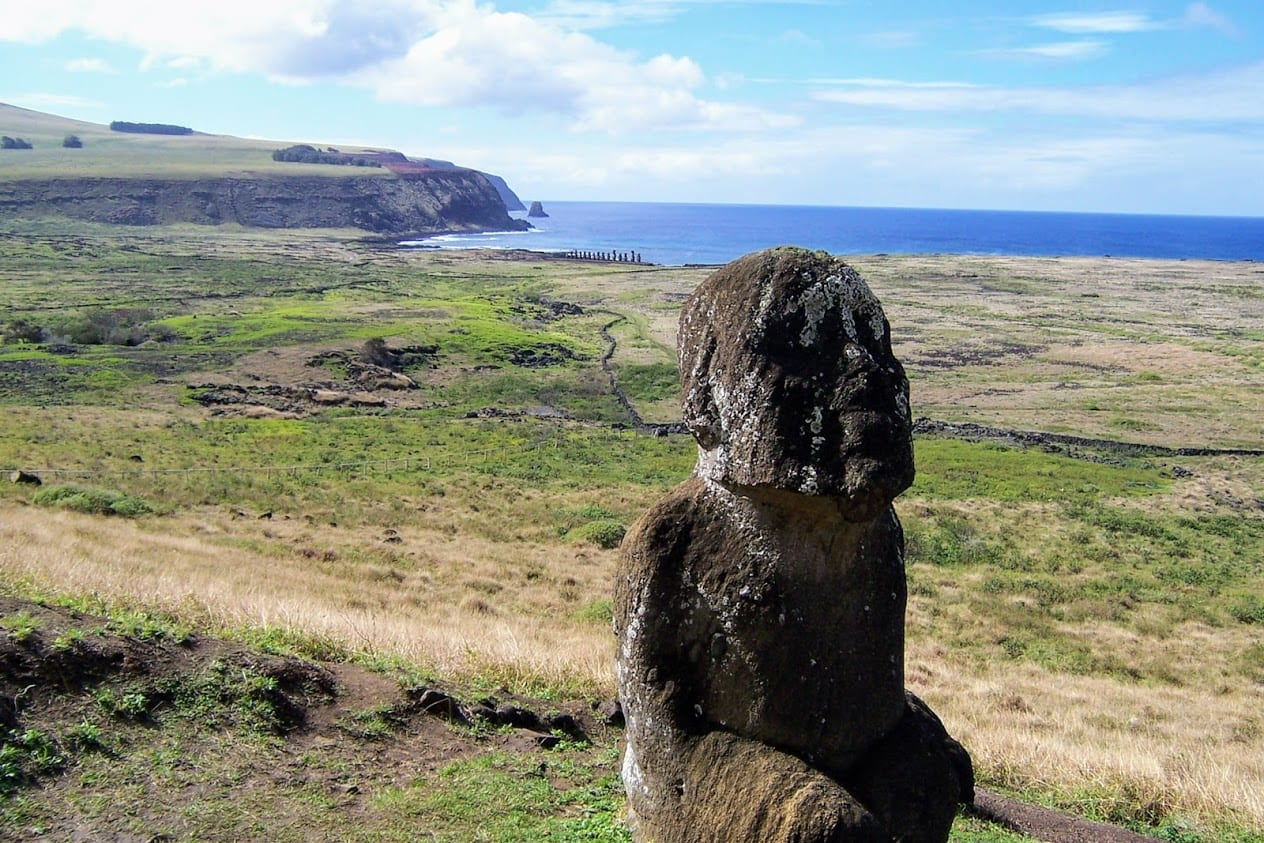 Statues on Easter Island
