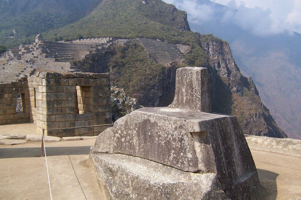 Exploring the site of Machu Picchu in Peru