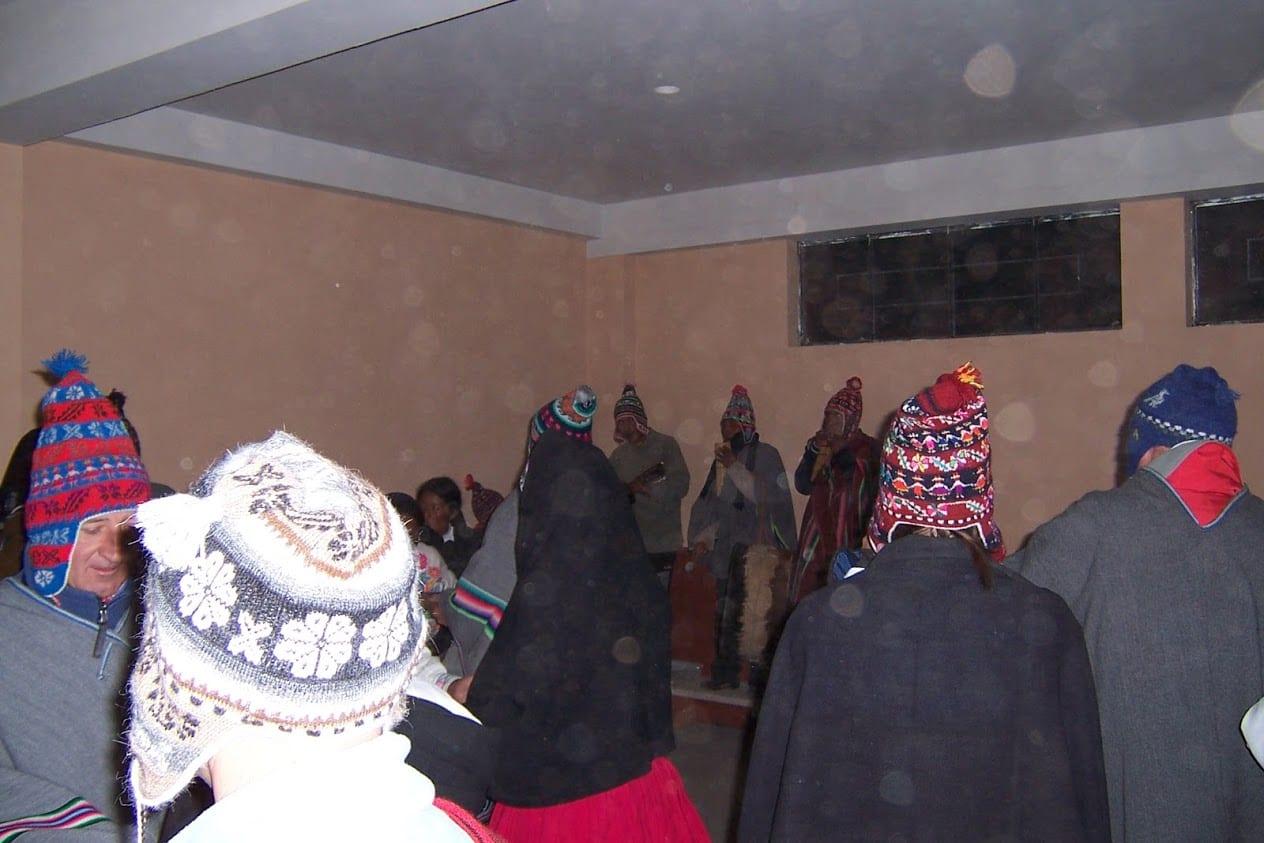 Fiesta time in Peru