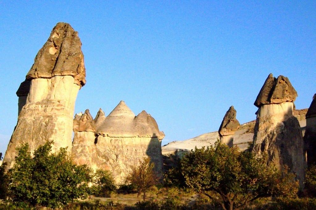 The stunning Goreme landscape in Turkey