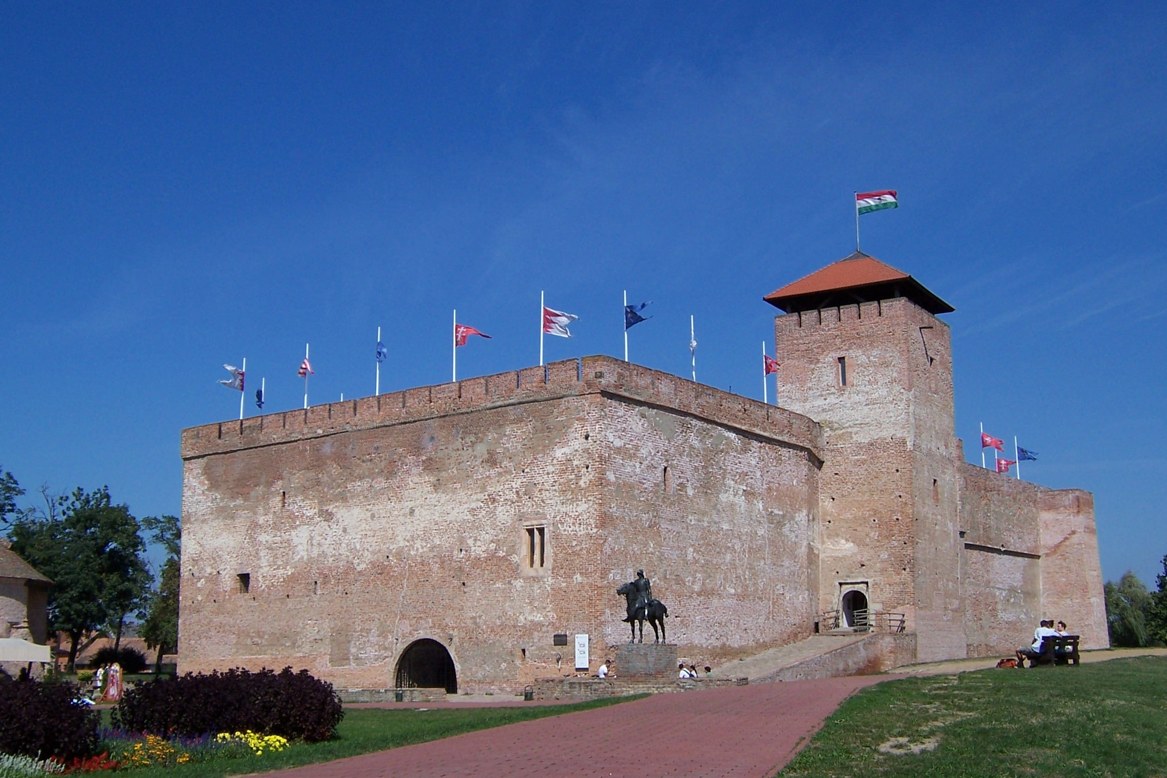 Gyula castle Hungary travelogue