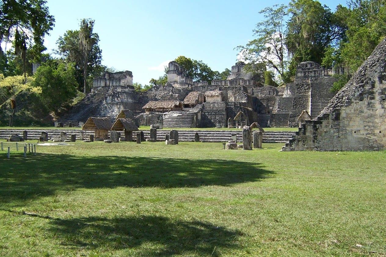 Inside Tikal in Guatemala