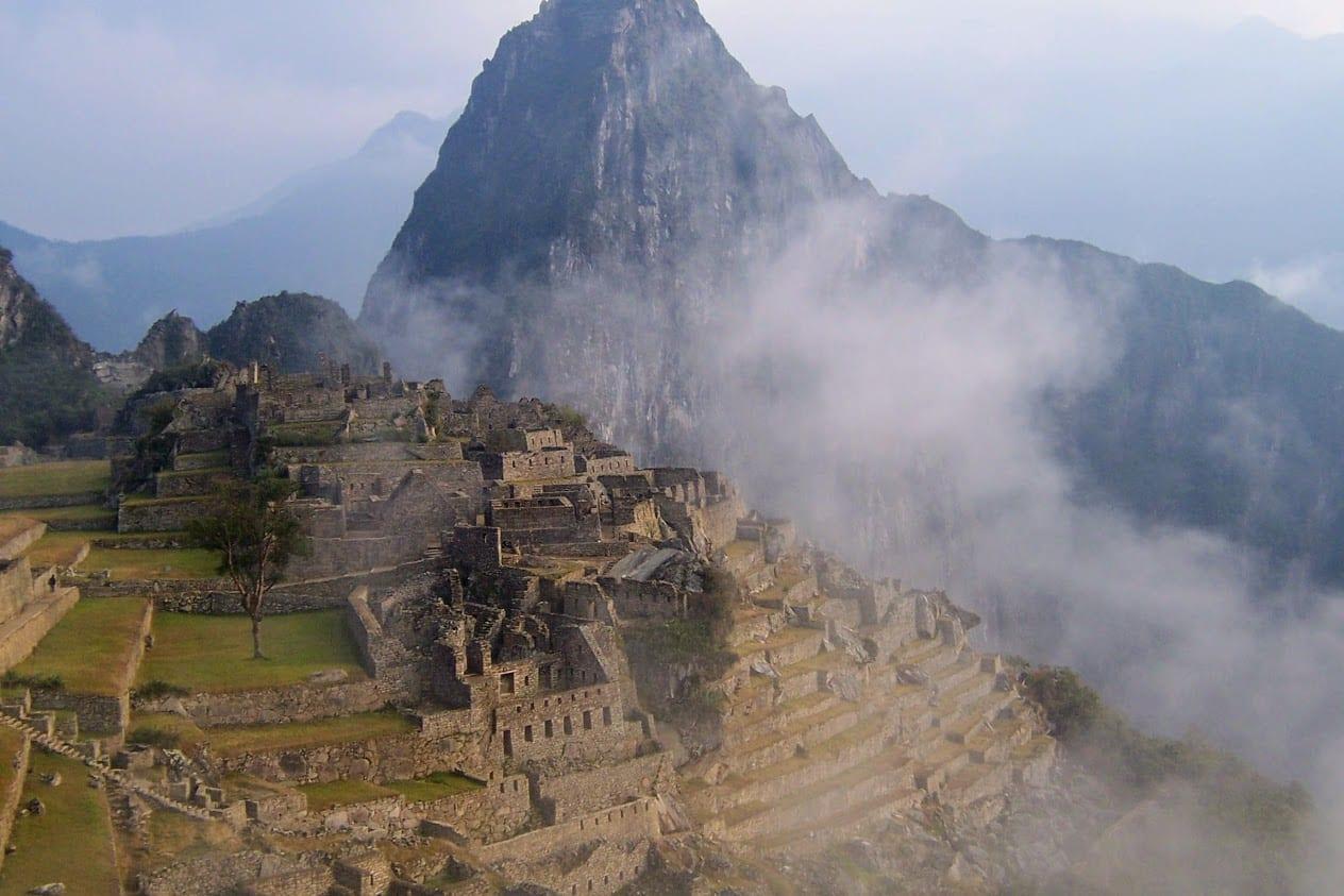 Photo of Machu Pichhu in Peru