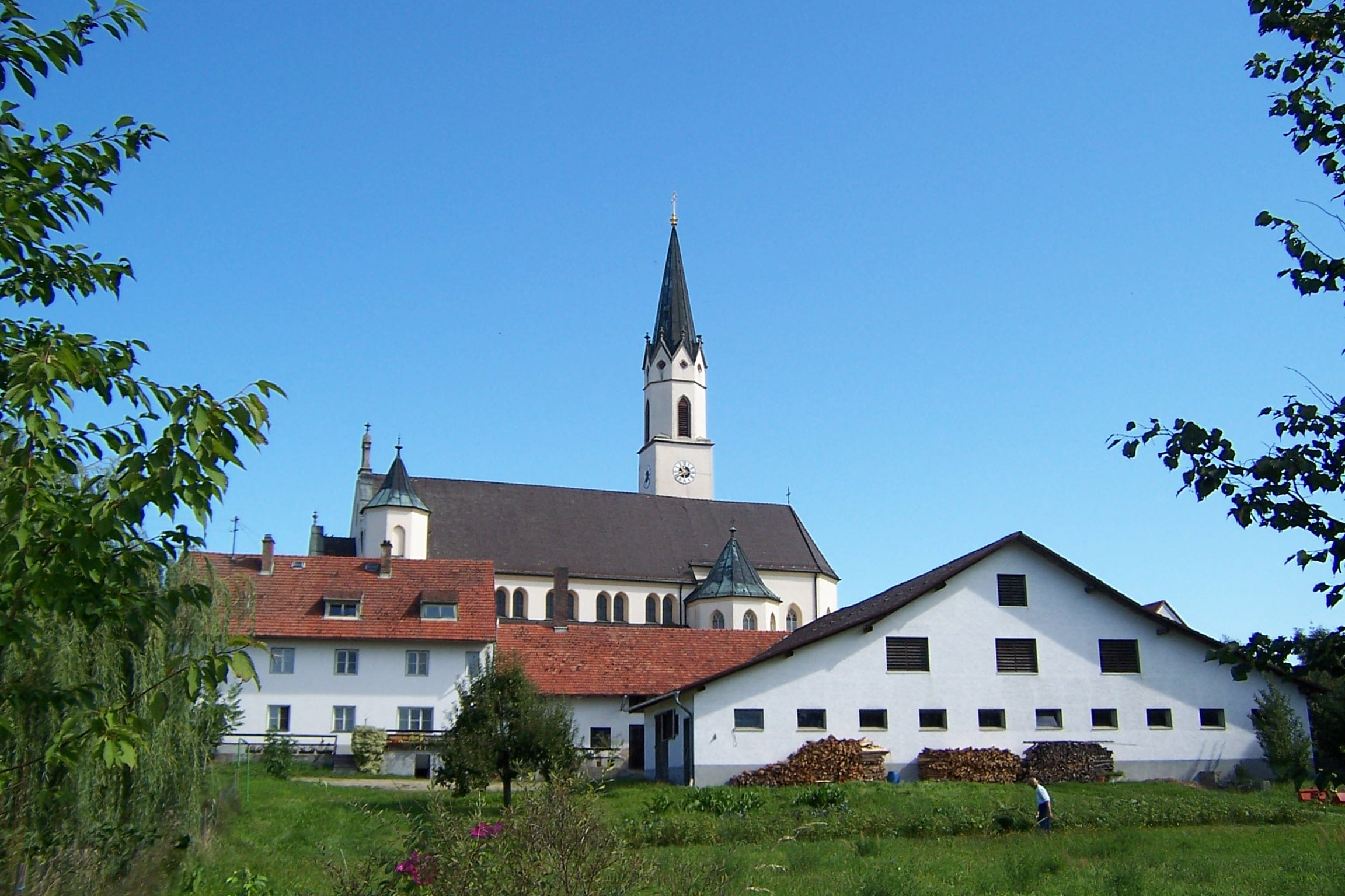 A pretty town along the Danube Cycle Path