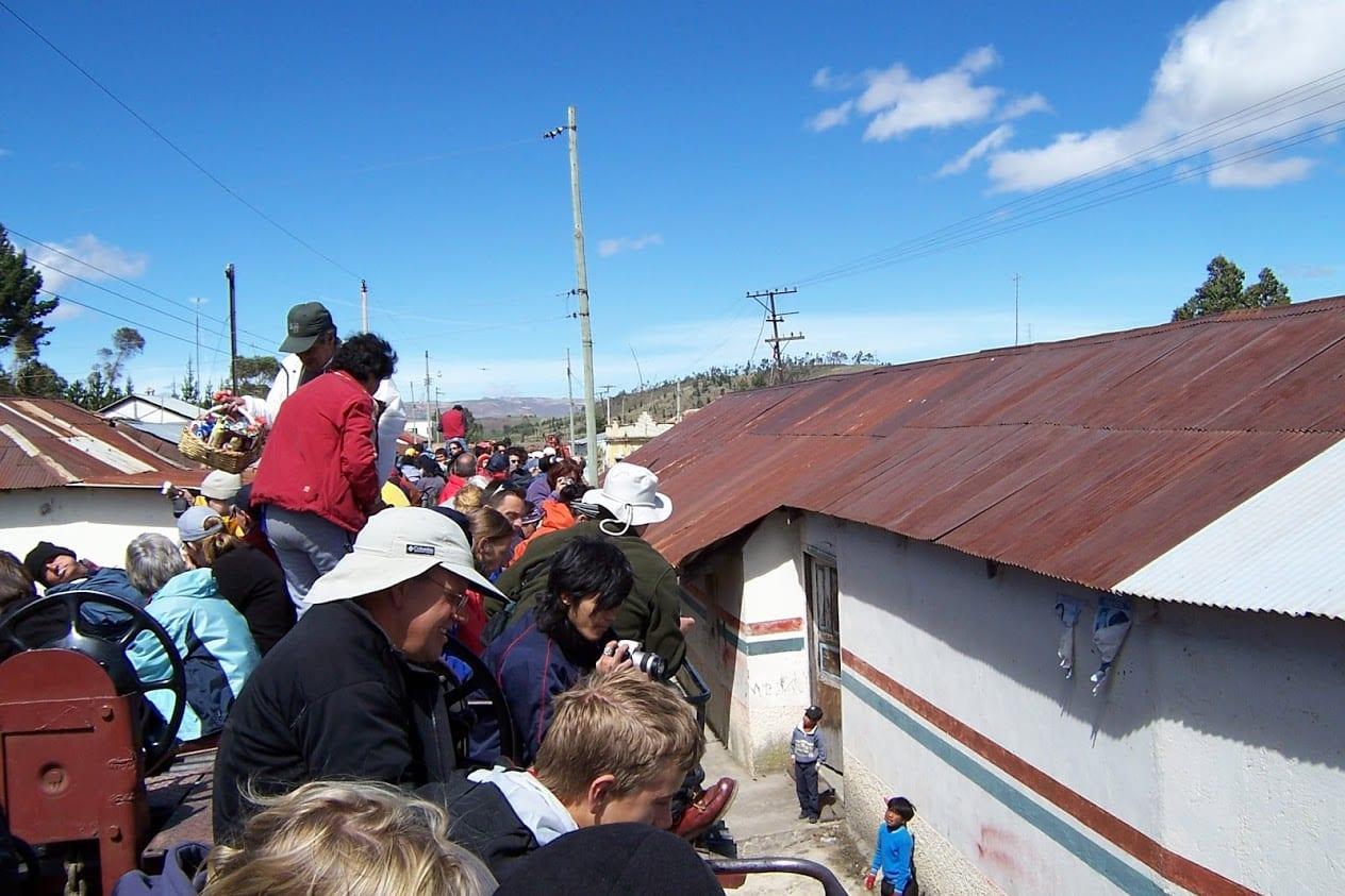 The Riobamba train ride in Ecuador