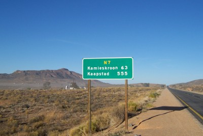 Cycling from Springbok to Cape Town - Kamieskroon and the Cape Town. The end is near!