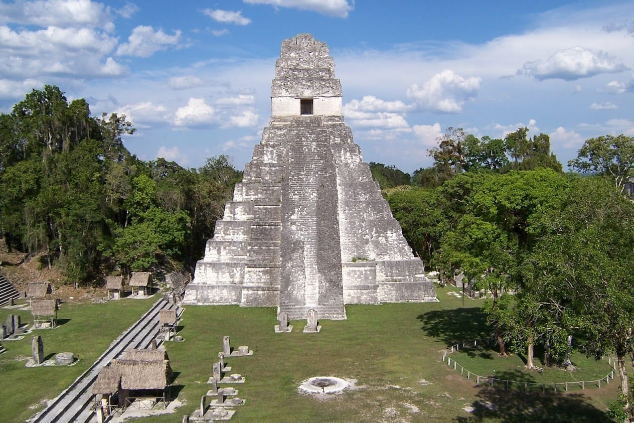 Spending time in Tikal