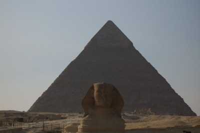 sphinx and pyramid - 10 Ancient And Weirdly Mysterious Places I have Visited