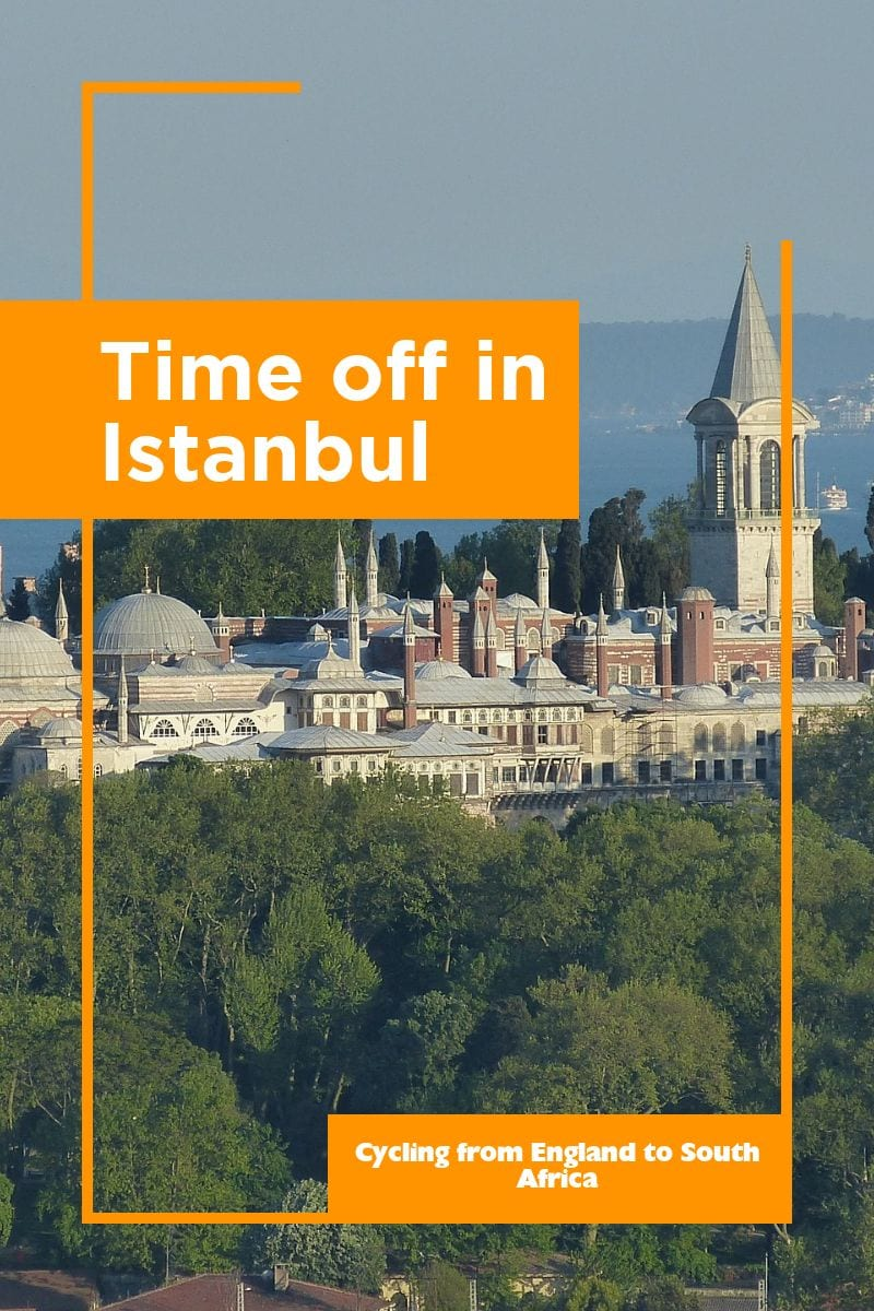 During my bike tour from England to South Africa, I took some time off in Istanbul in Turkey. Here's what I got up to.