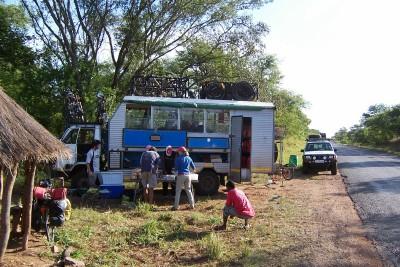 Tour de Afrique in Zambia 2007