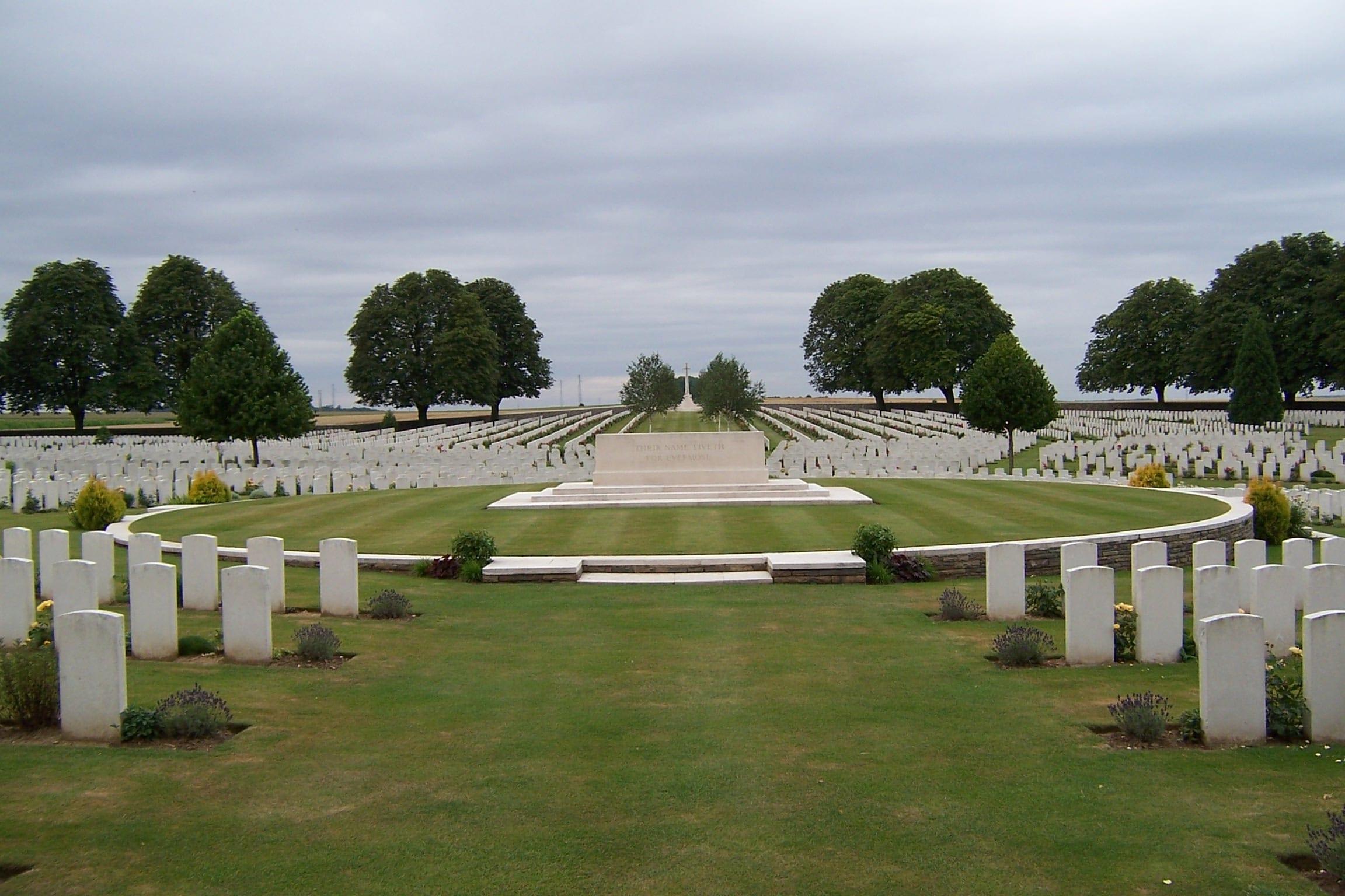 The Vimy Ridge War Cemetery