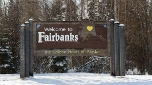 Fairbanks in Alaska
