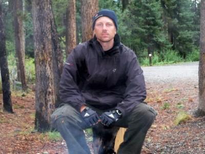 Dave Briggs at Squanga in Canada