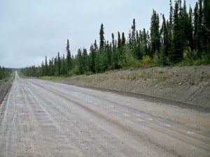 Cycling from Watson Lake to Boya Lake in Canada