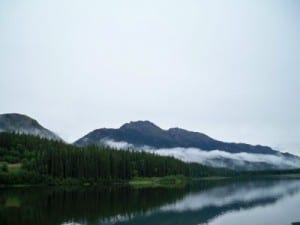 Cycling from Dease River Crossing to Lions Camp in Canada