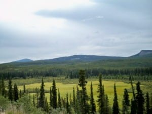 Cycling from Continental Divide to Big Creek in Canada