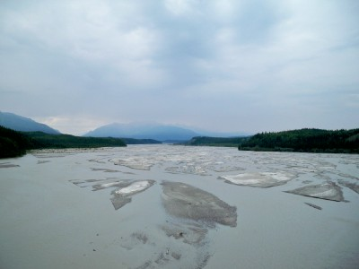 Photo of the Richardson River in Alaska
