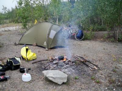 wild camping in Alaska