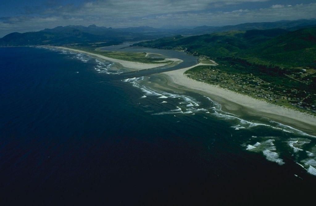 Nehalem Beach in Oregon