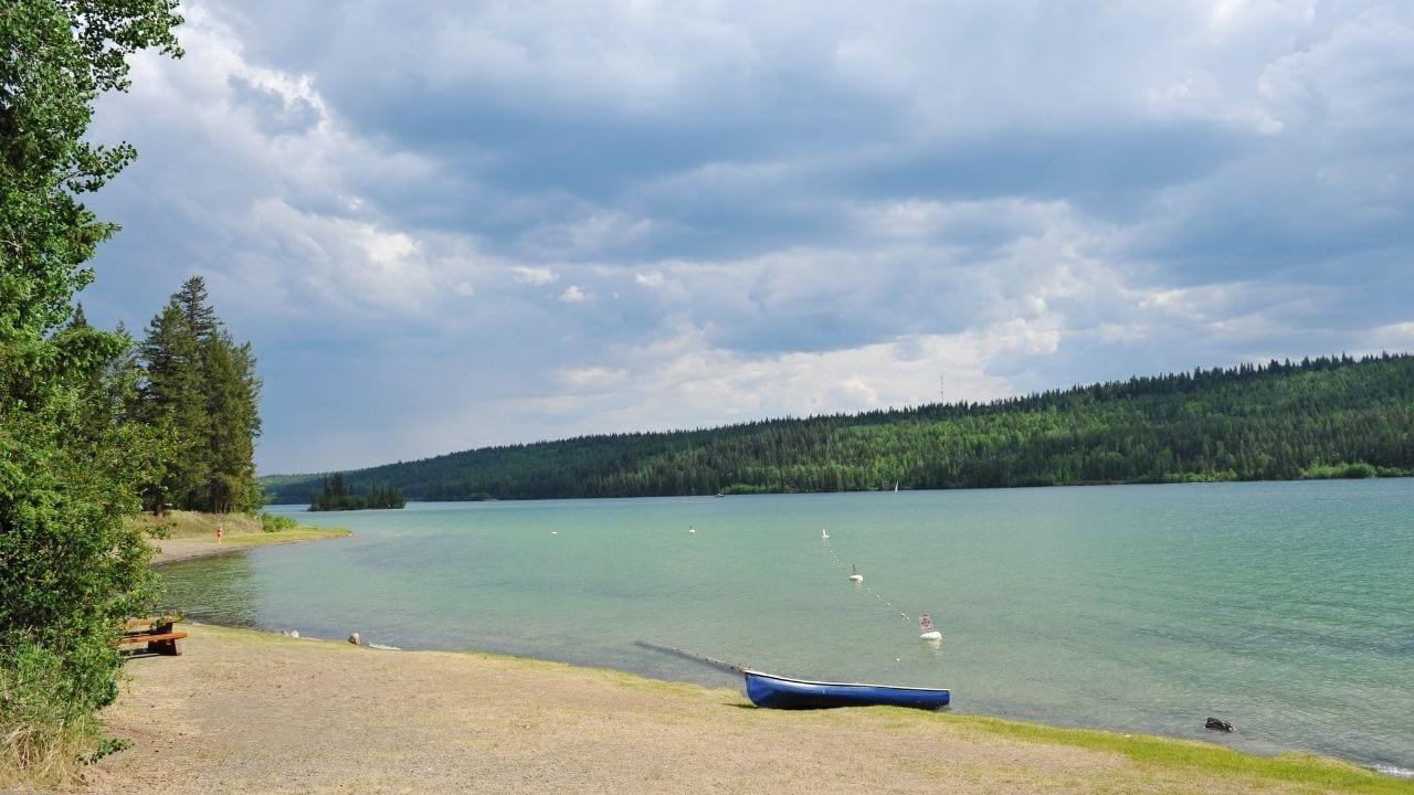 Lake La Hache Canada