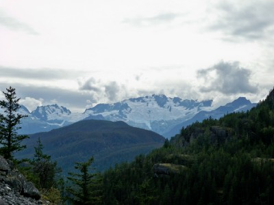 Cycling from Pemberton to Cat Lake in Canada