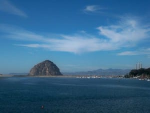 The view over Morro Bay