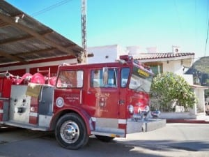 The Bomberos of Mulege in Mexico