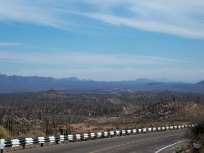 Cycling from Parador Punta Prieta El Crucero to Guerro Negro in Baja Mexico