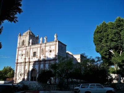 Cycling from San Ignacio to Santa Rosalia in Baja California Mexico
